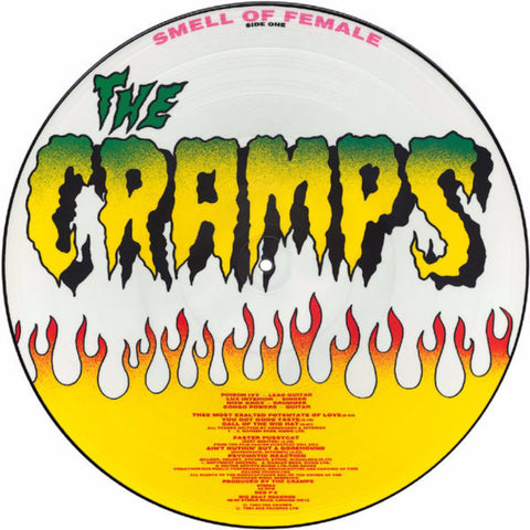 The Cramps ‎– Smell Of Female - Vinyl Record - Side 1