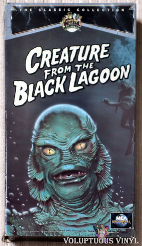 Creature From The Black Lagoon VHS tape front cover