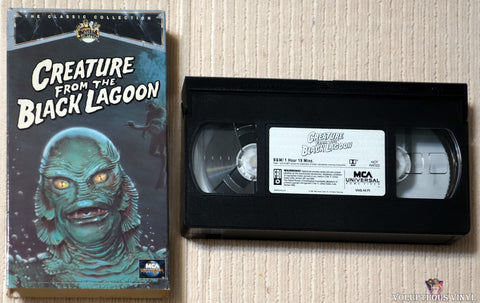 Creature From The Black Lagoon VHS tape