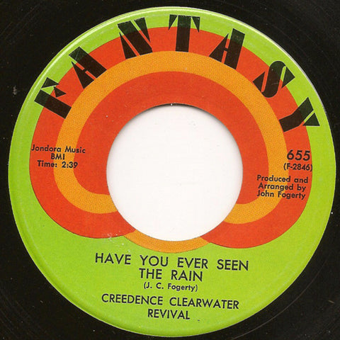Creedence Clearwater Revival ‎– Have You Ever Seen The Rain (1970)