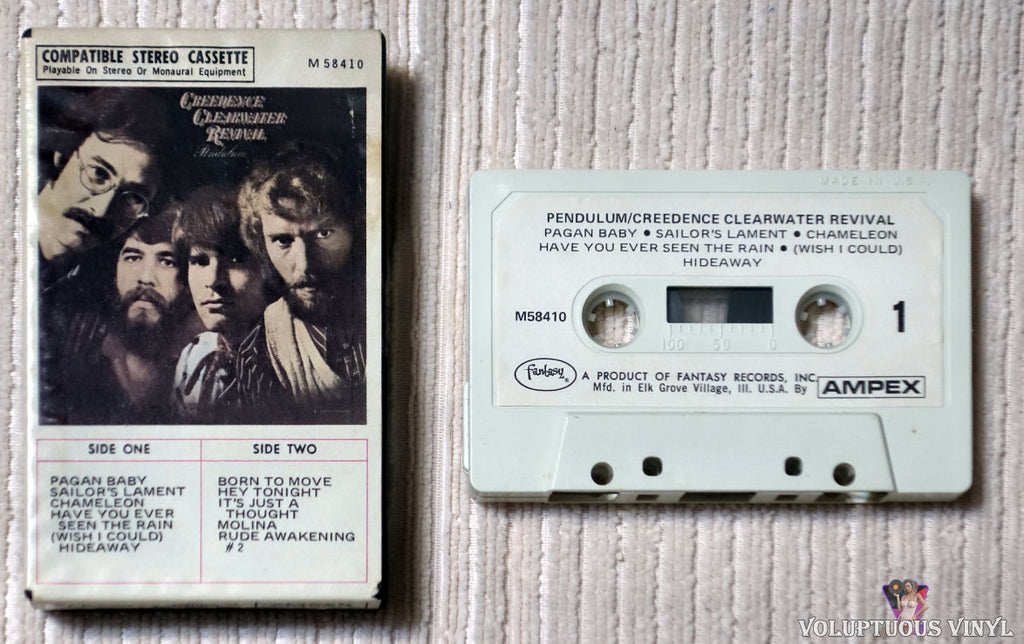 Creedence Clearwater Revival ‎– Pendulum cassette tape