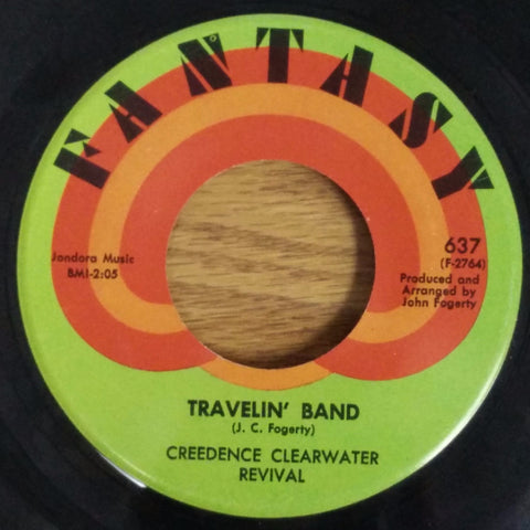 Creedence Clearwater Revival ‎– Travelin' Band / Who'll Stop The Rain (1970)