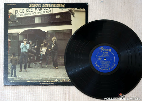 Creedence Clearwater Revival ‎– Willy And The Poor Boys - Vinyl Record