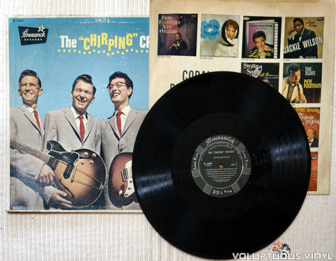 "The Crickets ‎– The ""Chirping"" Crickets - Vinyl Record"