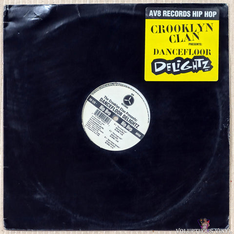 Crooklyn Clan ‎– Dancefloor Delightz vinyl record front cover