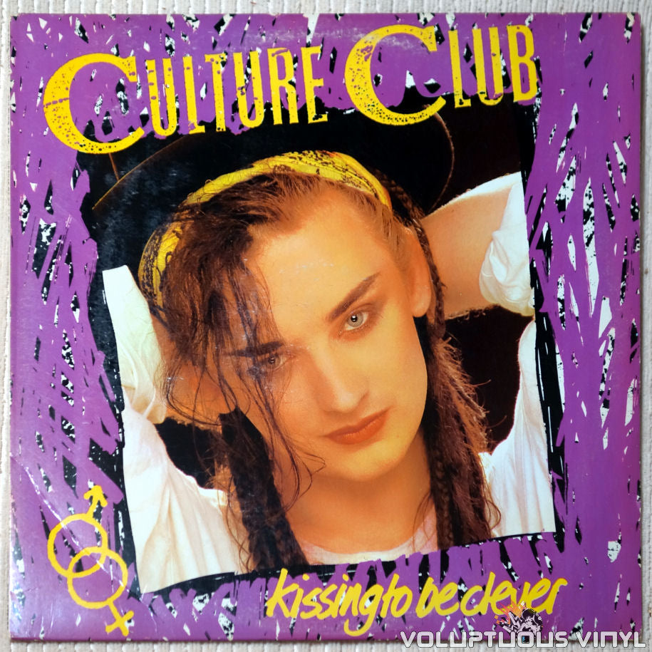 Culture Club ‎– Kissing To Be Clever vinyl record front cover