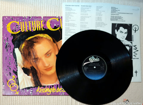 Culture Club ‎– Kissing To Be Clever vinyl record