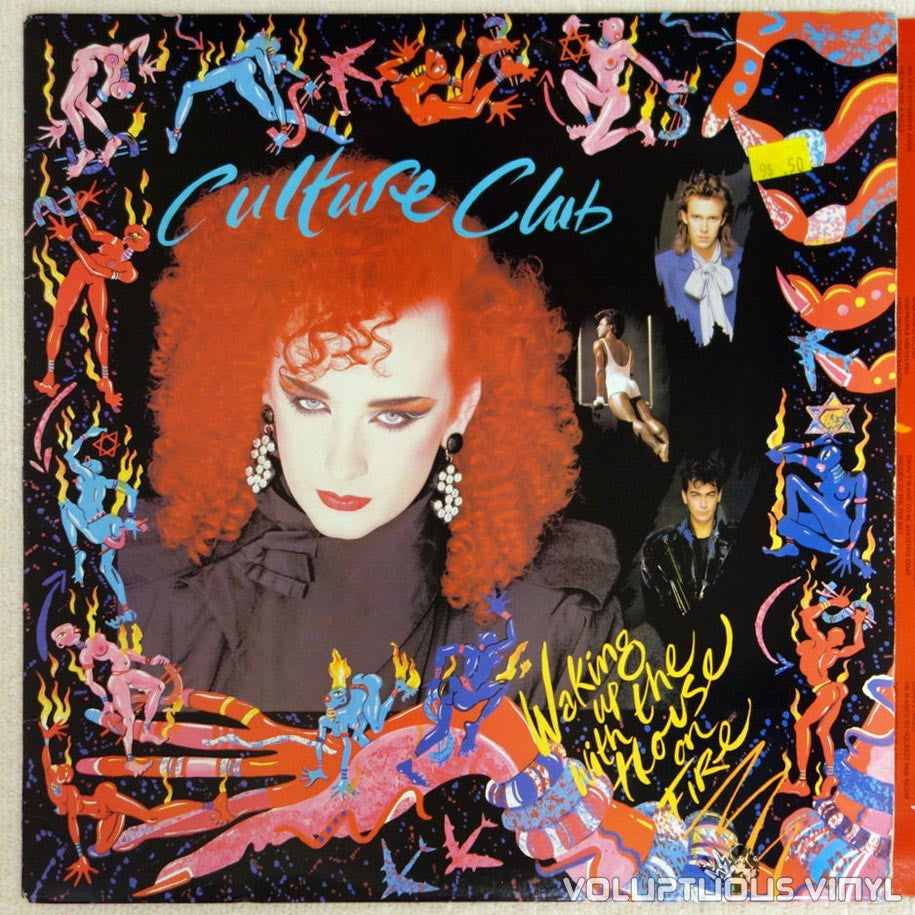 Culture Club ‎– Waking Up With The House On Fire - Vinyl Record