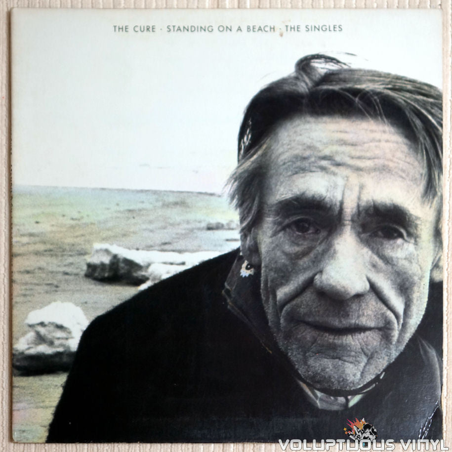 The Cure ‎– Standing On A Beach - The Singles - Vinyl Record - Front Cover