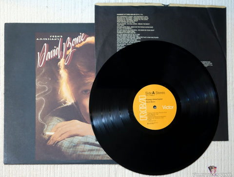 David Bowie ‎– Young Americans vinyl record