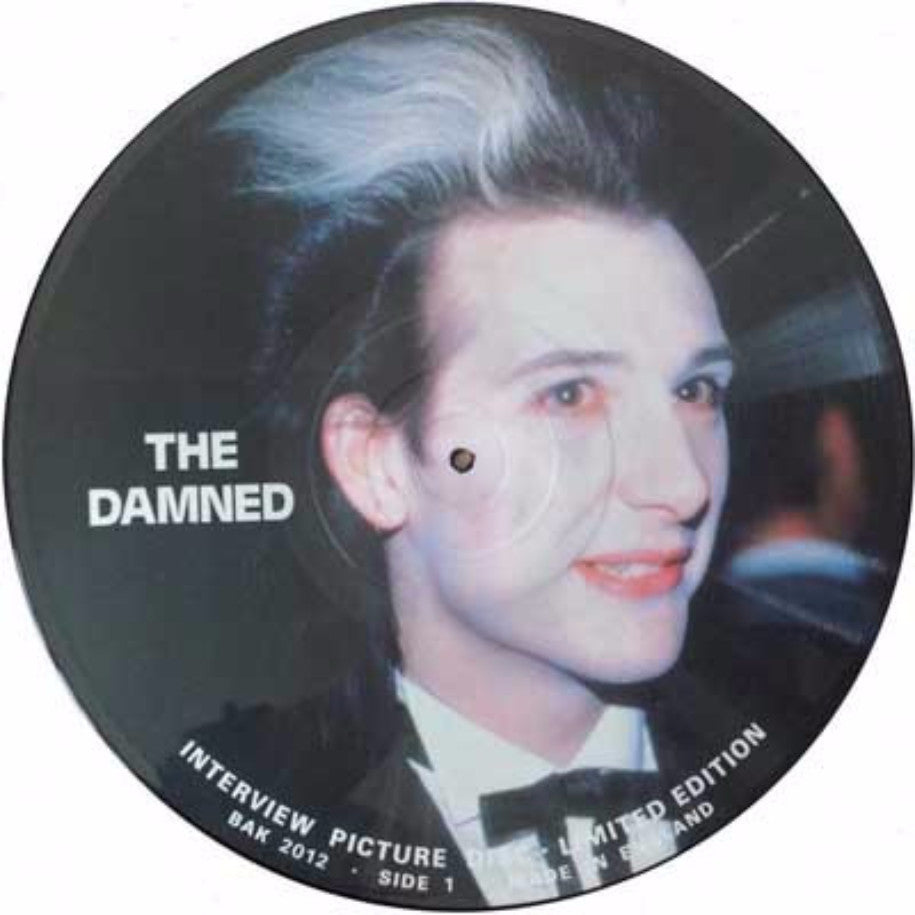 The Damned ‎– Interview - Vinyl Record - Side 1