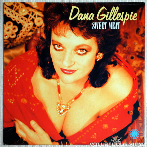 Dana Gillespie ‎– Sweet Meat - Vinyl Record - Front Cover