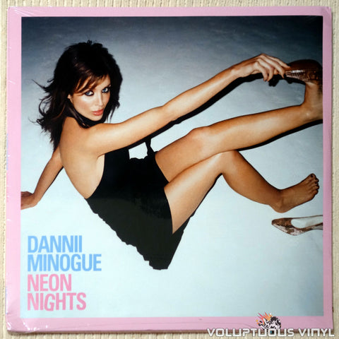 Dannii Minogue ‎– Neon Nights (2018) 2xLP, SEALED LTD Signed Poster, Pink & Blue or Black Vinyl, UK Press