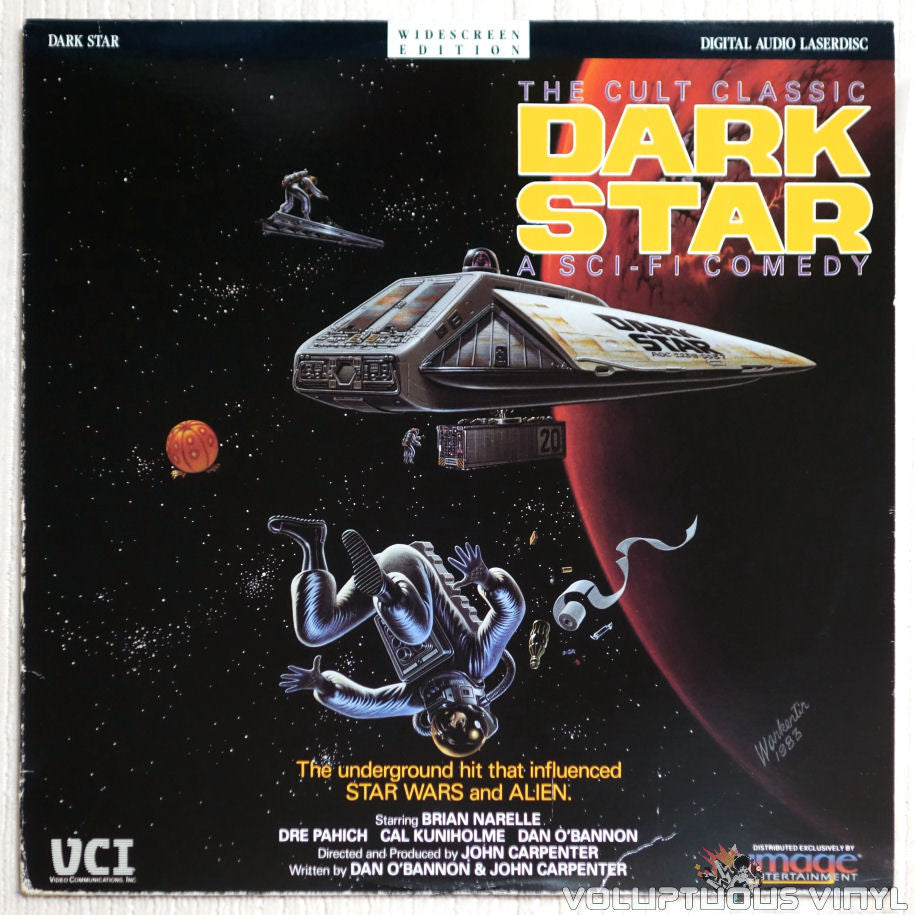 Dark Star - Laserdisc - Front Cover
