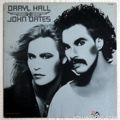 Daryl Hall & John Oates ‎– Daryl Hall & John Oates - Vinyl Record - Front Cover