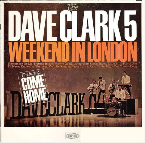 The Dave Clark 5 ‎– Weekend In London (1965) Cheap Vinyl Record