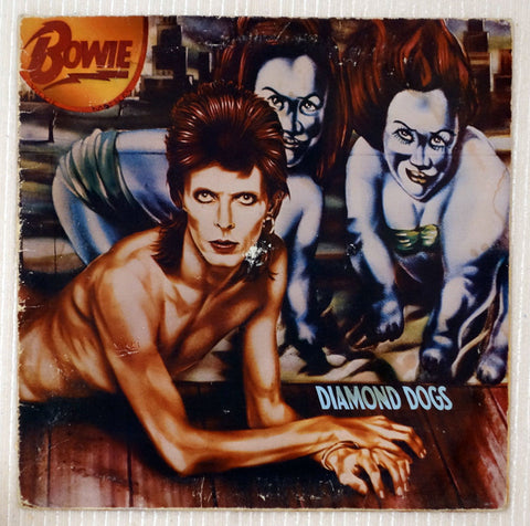 David Bowie - Diamond Dogs - Vinyl Record Front Cover