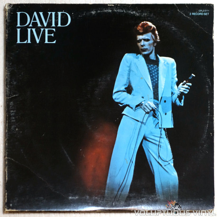 David Bowie ‎– David Live - Vinyl Record - Front Cover