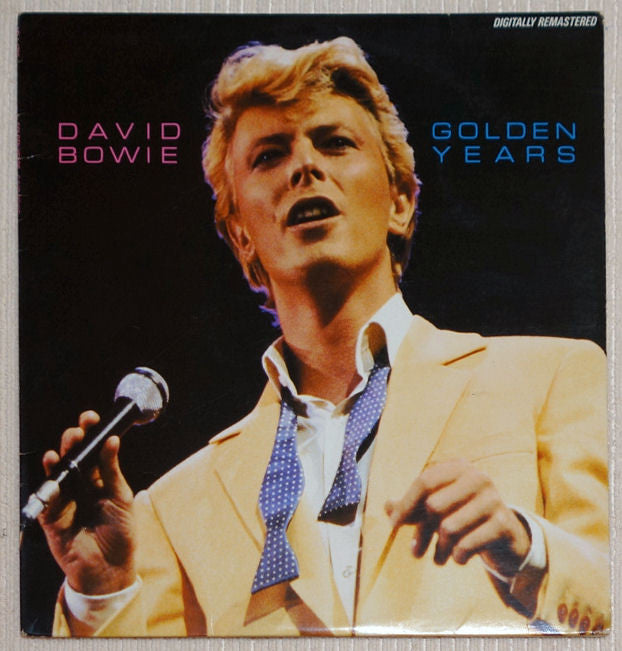 David Bowie ‎Golden Years Vinyl Record Front Cover