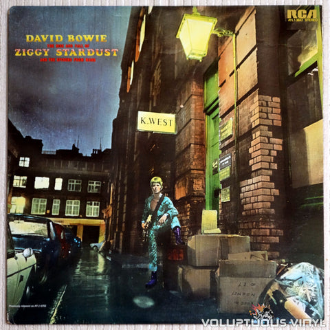 David Bowie ‎– The Rise And Fall Of Ziggy Stardust And The Spiders From Mars - Vinyl Record - Front Cover