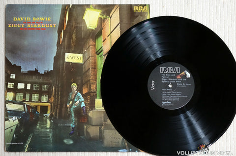 David Bowie ‎– The Rise And Fall Of Ziggy Stardust And The Spiders From Mars - Vinyl Record