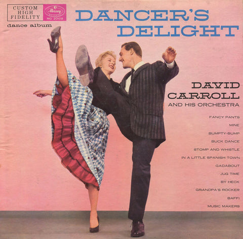 David Carroll & His Orchestra ‎– Dancer's Delight (?) Vinyl Record