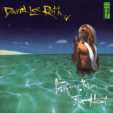 David Lee Roth ‎– Crazy From The Heat (1985) Cheap Vinyl Record