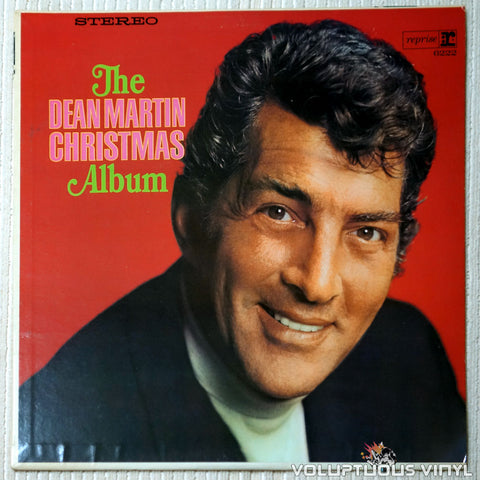Dean Martin ‎– The Dean Martin Christmas Album - Vinyl Record - Front Cover