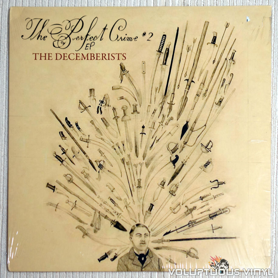 The Decemberists ‎– The Perfect Crime #2 EP vinyl record front cover