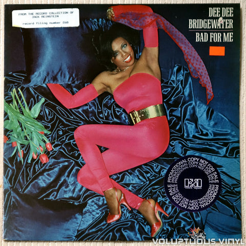 Dee Dee Bridgewater ‎– Bad For Me - Vinyl Record - Front Cover