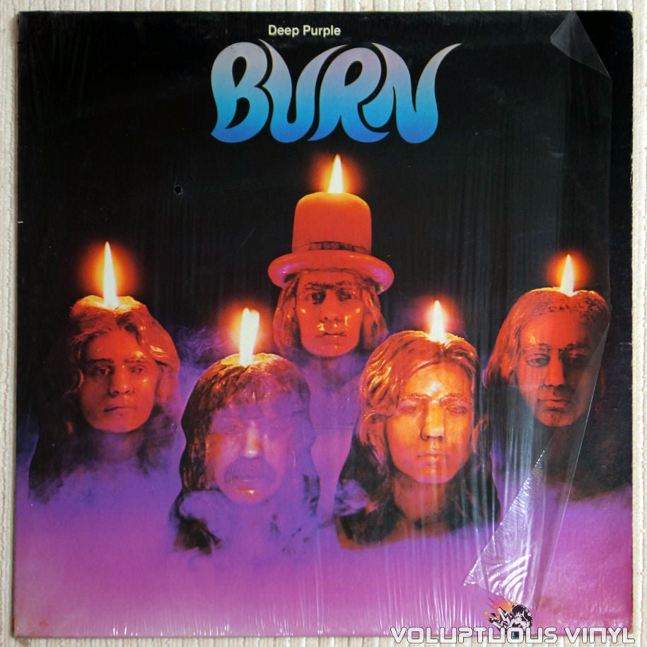 Deep Purple ‎– Burn - Vinyl Record - Front Cover