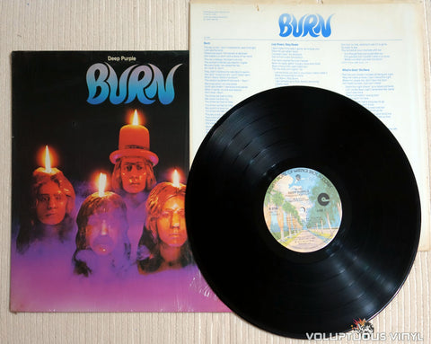 Deep Purple ‎– Burn - Vinyl Record
