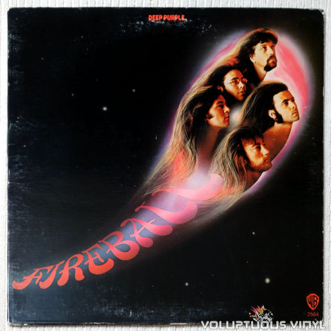 Deep Purple ‎– Fireball - Vinyl Record - Front Cover