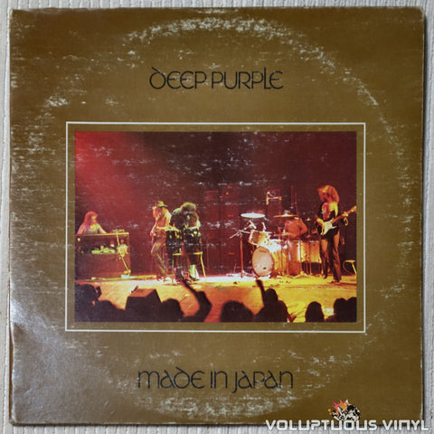 Deep Purple ‎– Made In Japan - Vinyl Record - Front Cover