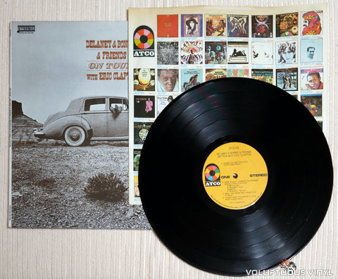 Delaney & Bonnie & Friends With Eric Clapton ‎– On Tour - Vinyl Record