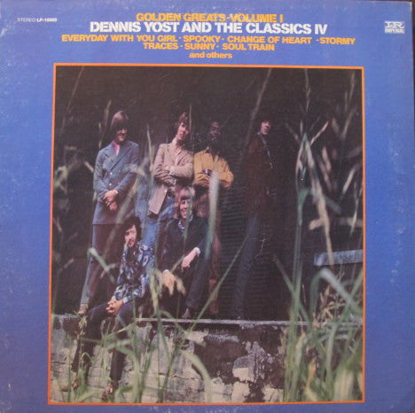 Dennis Yost & Classics IV ‎– Golden Greats Volume 1 (1969) Vinyl Record