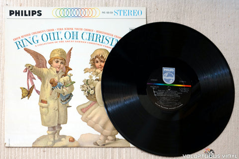 Der Bendersche Kinderchor , Vera Schink Youth Chorus And Bergedorfer Chamber Chorus ‎– Ring Out, Oh Christmas: A Collection Of The Great German Christmas Carols vinyl record