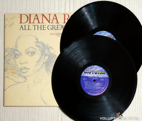 Diana Ross ‎– All The Great Hits - Vinyl Record