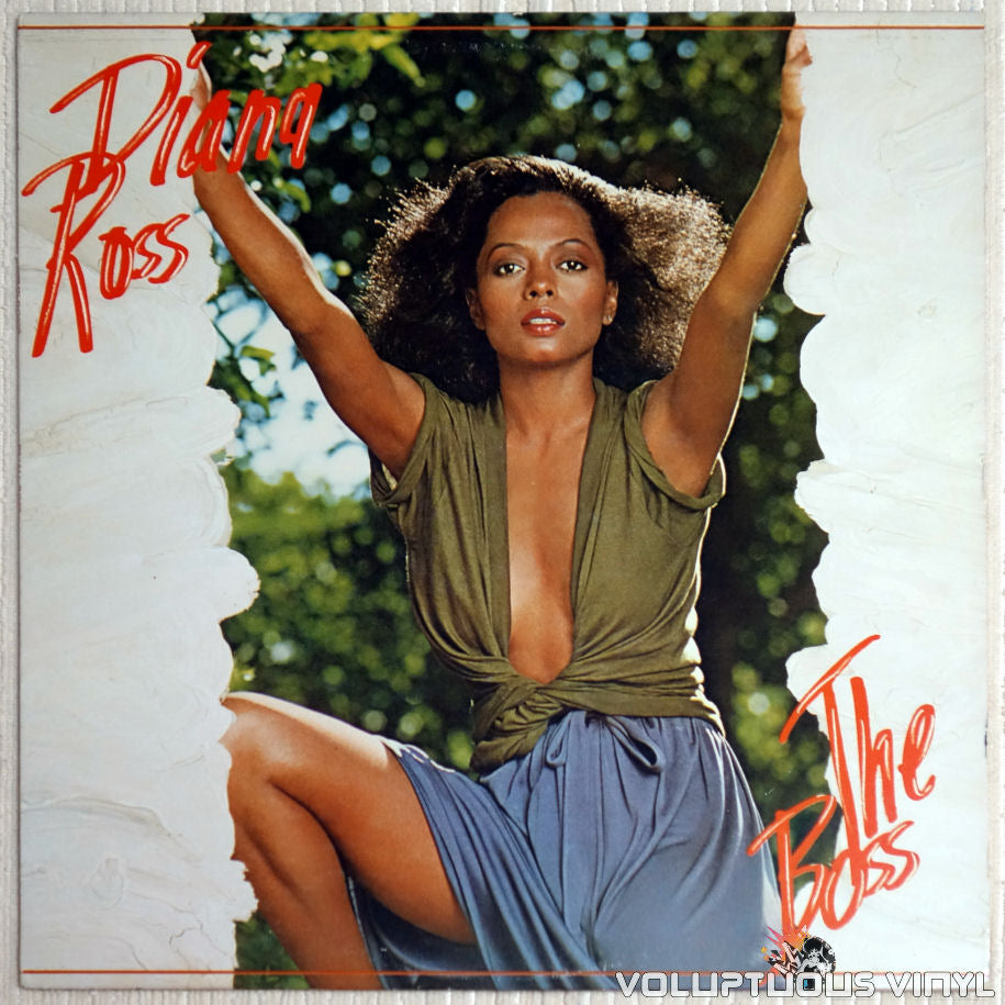 Diana Ross ‎– The Boss - Vinyl Record - Front Cover