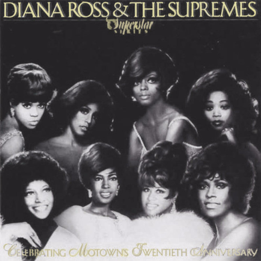 Diana Ross & The Supremes ‎– Diana Ross & The Supremes - Vinyl Record - Front Cover