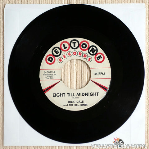 Dick Dale And The Del-Tones ‎–  Eight Till Midnight - Vinyl Record