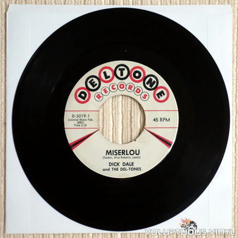 Dick Dale And The Del-Tones ‎– Miserlou - Vinyl Record