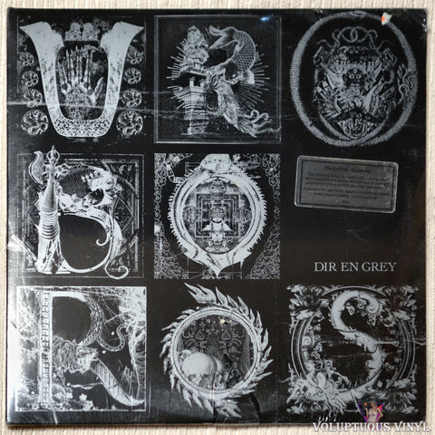 Dir En Grey ‎– Uroboros (2008) 2xLP SEALED