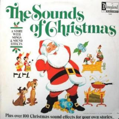 Unknown Artist ‎– The Sounds Of Christmas vinyl record front cover