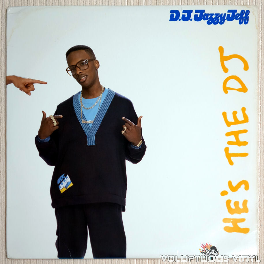 DJ Jazzy Jeff & The Fresh Prince ‎– He's The DJ, I'm The Rapper - Vinyl Record - Front Cover