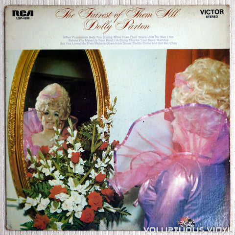 Dolly Parton ‎– The Fairest Of Them All - Vinyl Record - Front Cover