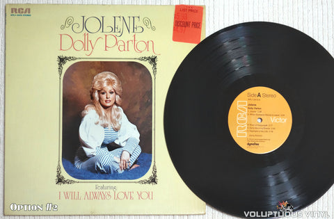 Dolly Parton ‎– Jolene - Vinyl Record