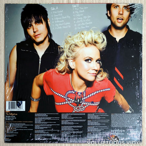 The Dollyrots ‎– A Little Messed Up - Vinyl Record - Back Cover