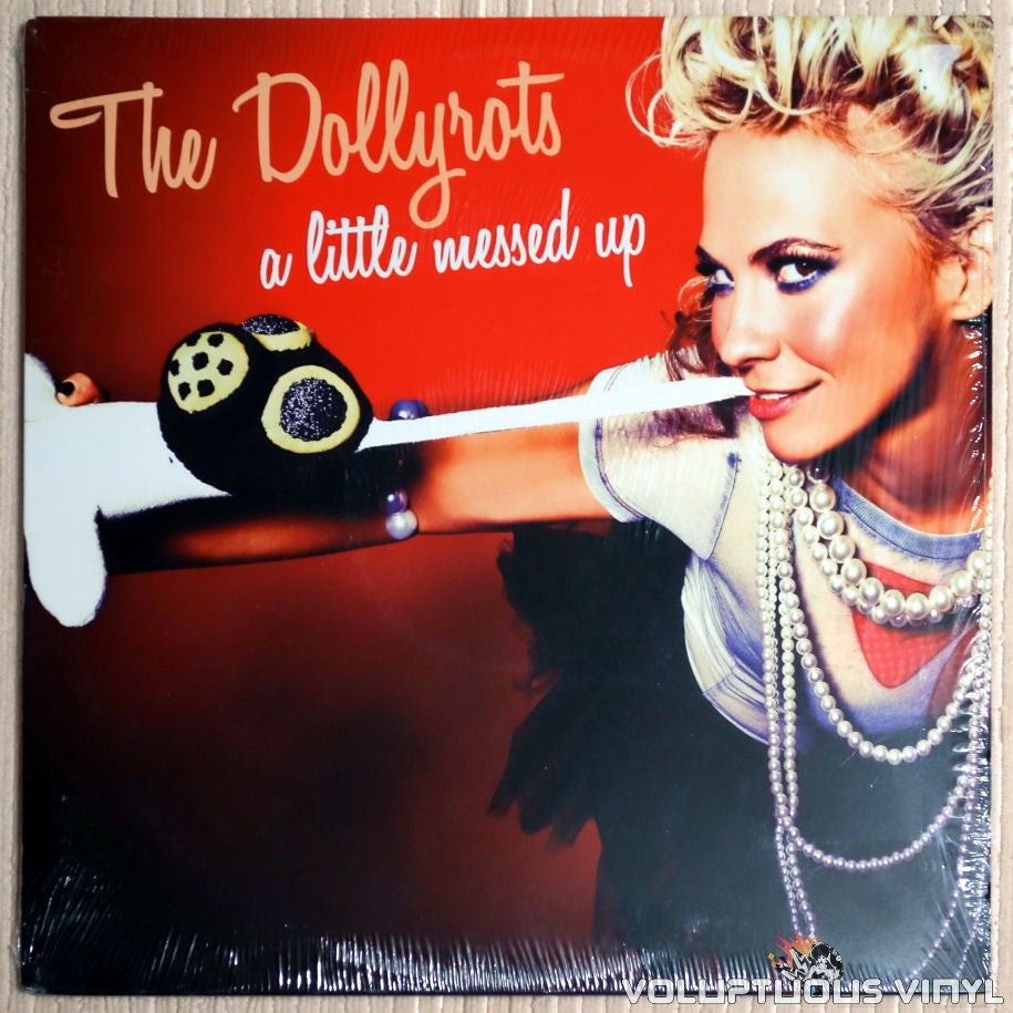 The Dollyrots ‎– A Little Messed Up - Vinyl Record - Front Cover