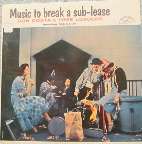 Don Costa's Free Loaders ‎– Music To Break A Sub-Lease (1958) Cheap Vinyl Record